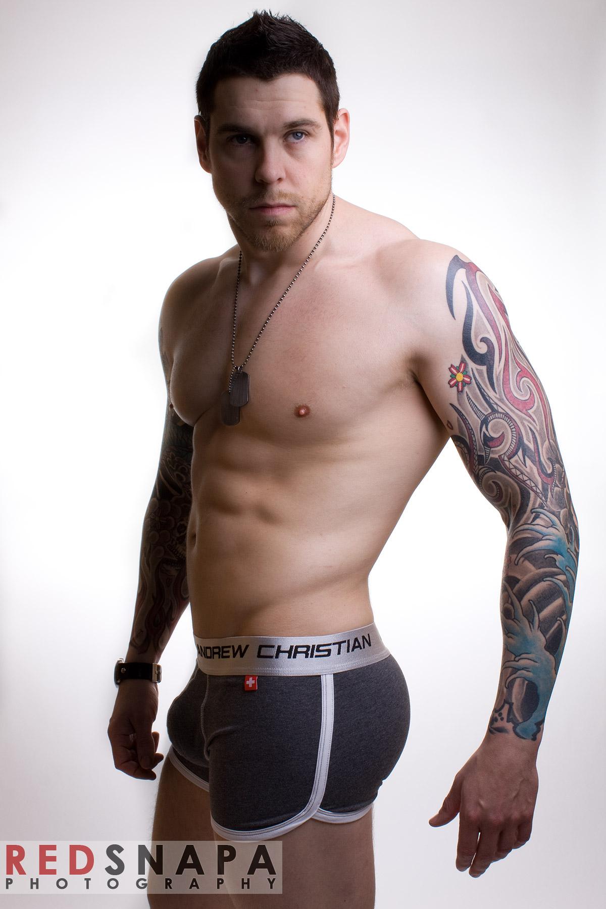Dean Van Damme - tattoo