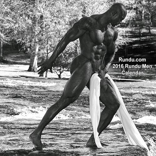 Izklesano moško telo