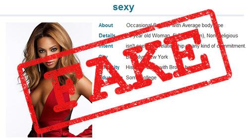 Primer lažnega profila na spletnih zmenkarijah