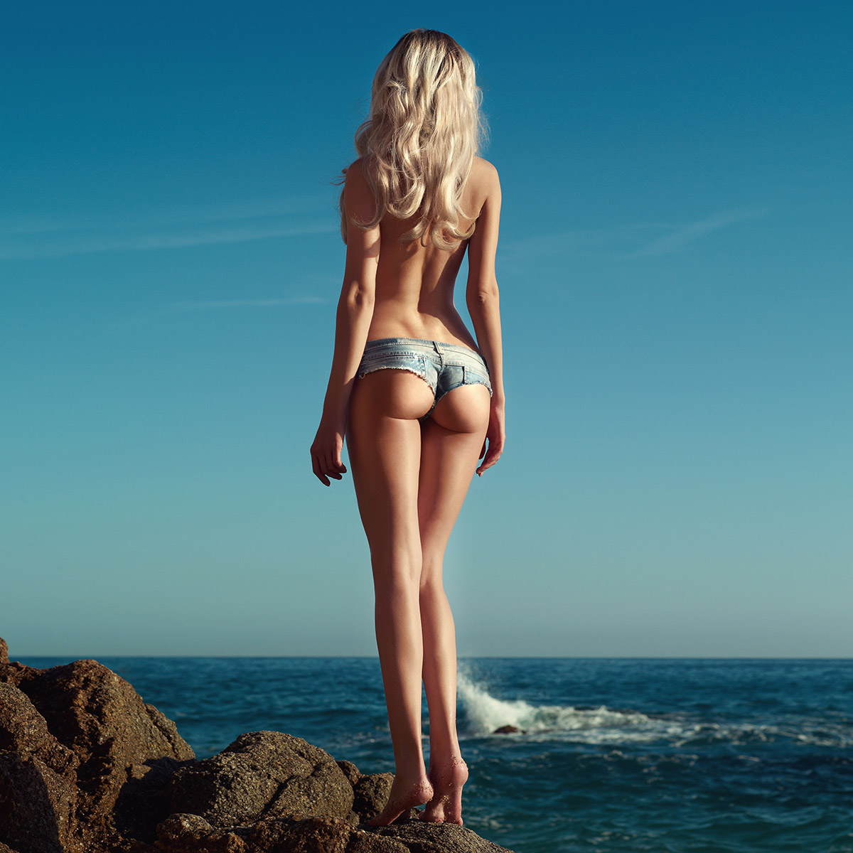 Sexy ritke na plaži
