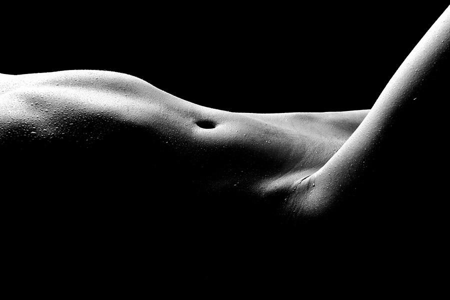 Čudovito golo žensko telo